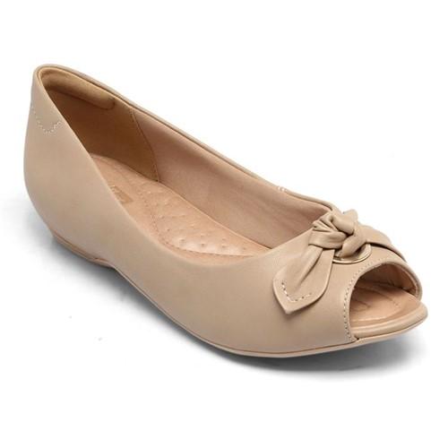Peep Toe Comfortflex Avelã 1876302