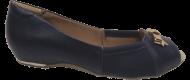 Peep Toe Tamanho Grande Comfortflex 1576405 Marinho | Dtalhe Calçados