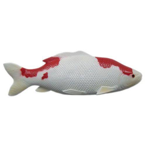 Peixe Carpa de Parede em Alto Relevo para Decoração.
