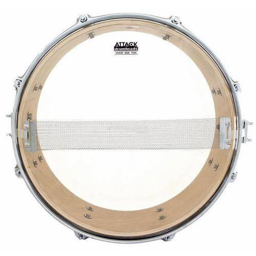 Pele Attack Drumheads Snare Side Hazy Thin 08¨ Ss8t Resposta de Caixa