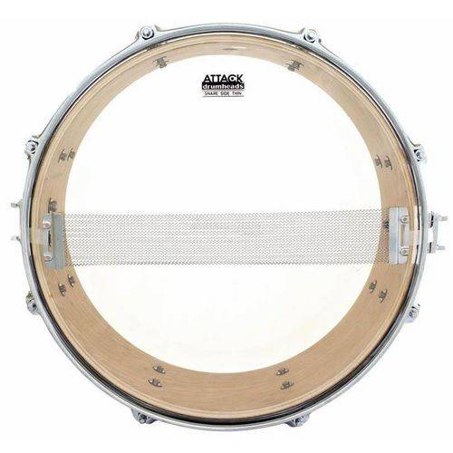 Pele Attack Drumheads Snare Side Hazy Thin 10¨ Ss10t Resposta de Caixa