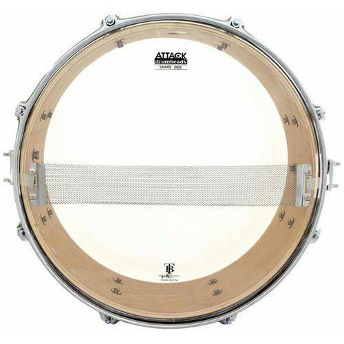 Pele Attack Drumheads Terry Bozzio Signature Hazy Snare 14¨ Tbss14 Resposta de Caixa