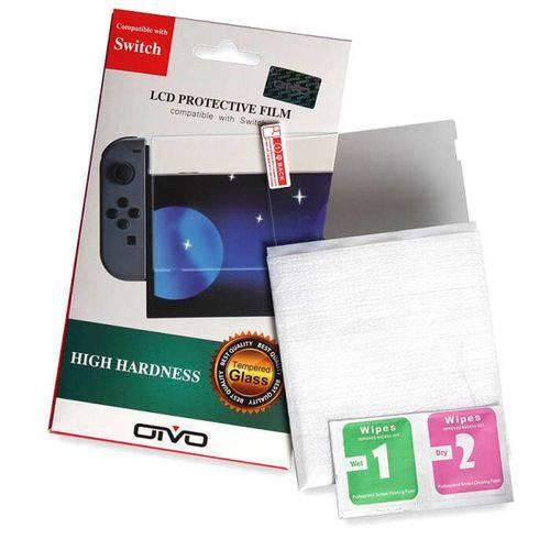 Película Protetora de Vidro Temperado Nintendo Switch