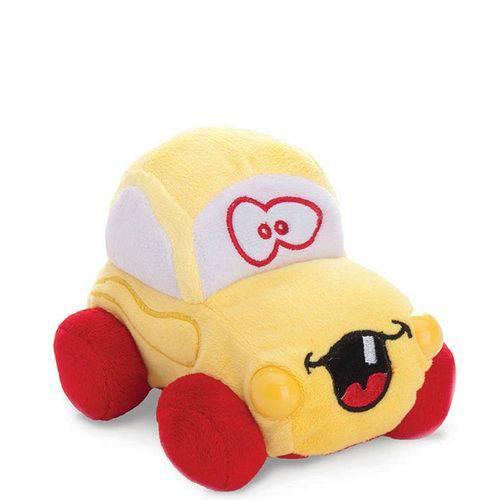 Pelúcia Carrinho Animado C/ Som 0251 - Buba Toys