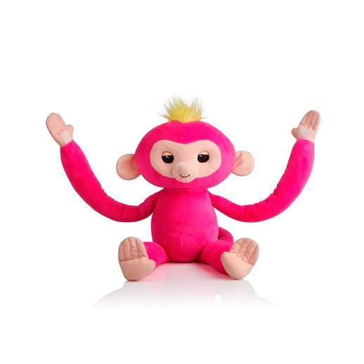 Pelúcia Interativa Huglings Monkey Pink - Candide