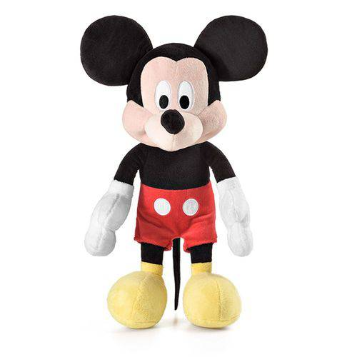 Pelúcia Mickey C/ Som - 22 Cm - Multikids