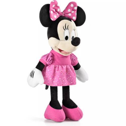 Pelúcia Minnie C/ Som 33cm Multikids - BR333