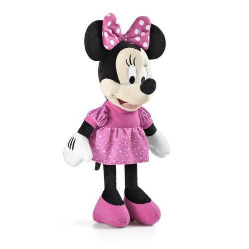Pelúcia Minnie C/ Som 33cm - Multikids