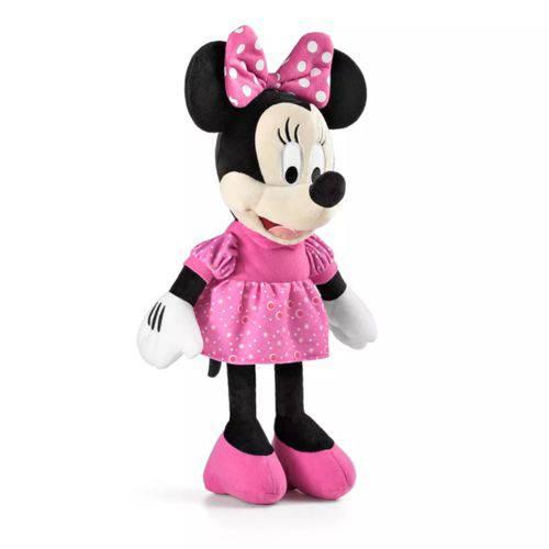 Pelúcia Minnie com Som 33 Centometros