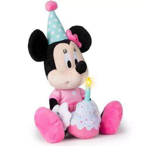 Pelúcia Minnie Happy Birthday - Multikids