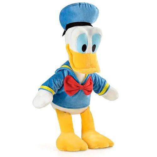 Pelúcia Pato Donald Multikids com Som 33 Cm