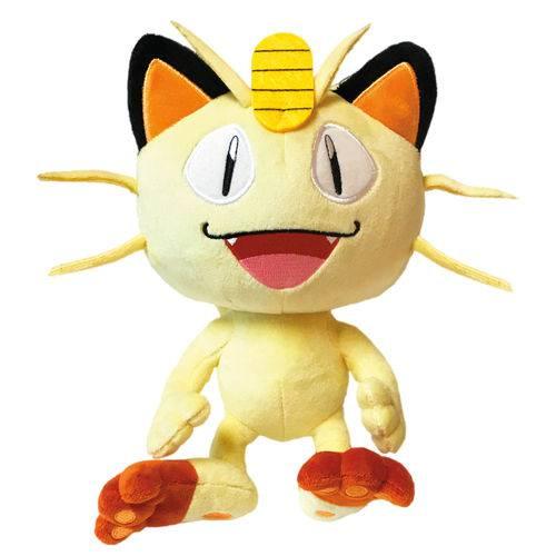 Pelúcia - Pokemon 8 - Meowth - Dtc