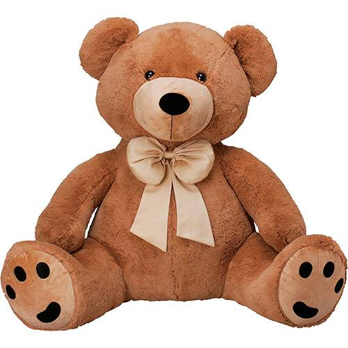 Pelúcia Urso Charles Gigante Caramelo - Buba