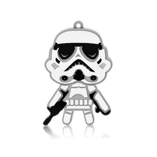 Pen Drive 8GB Stormtrooper Star Wars Multilaser - 039