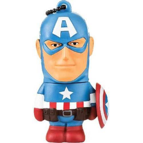 Pen Drive Marvel Capitão America 8gb Pd080