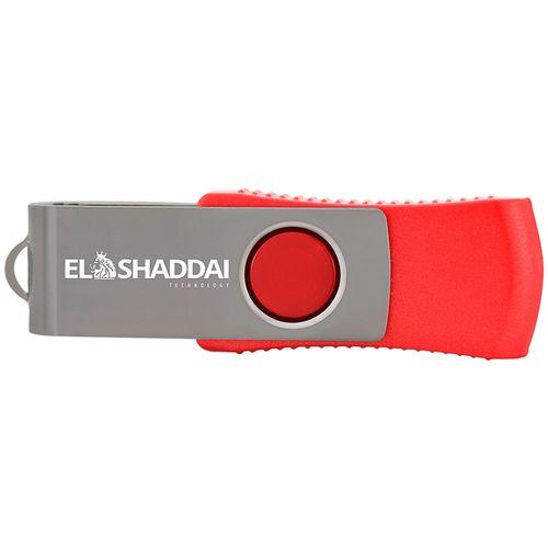 Pen Drive USB 2.0 EL SHADDAI Pen Drive 32GB USB 2.0 Vermelho EL SHADDAI