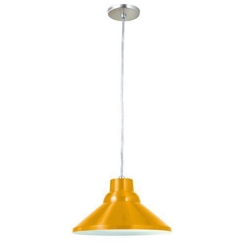 Pendente 6031 Redondo Soquete Amarelo