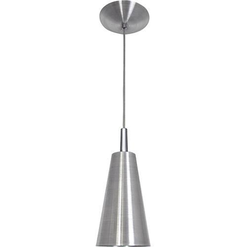 Pendente Cone Mini Tóquio em Alumínio Escovado - Attena