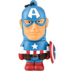 Pendrive 8GB Multilaser PD080 Marvel Capitão America