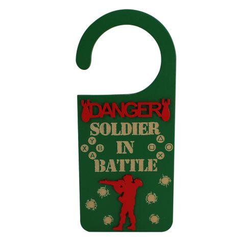Pendurador Danger Soldier In Battle