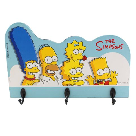Pendurador Família Simpsons