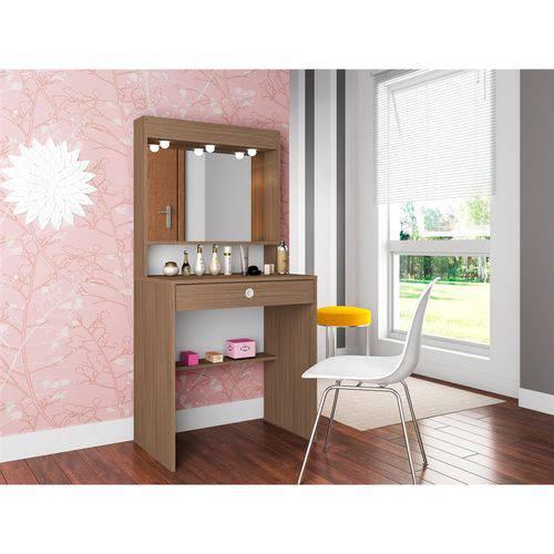 Penteadeira com Espelho e Iluminação Super Star PE700 Art In Móveis