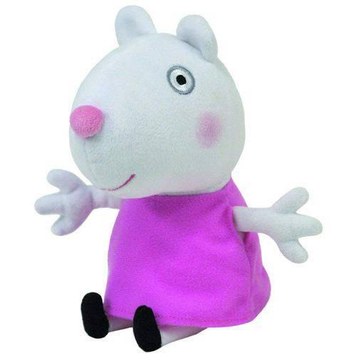 Peppa Pig Pelúcia P 20cm - Suzy Ovelha - Dtc