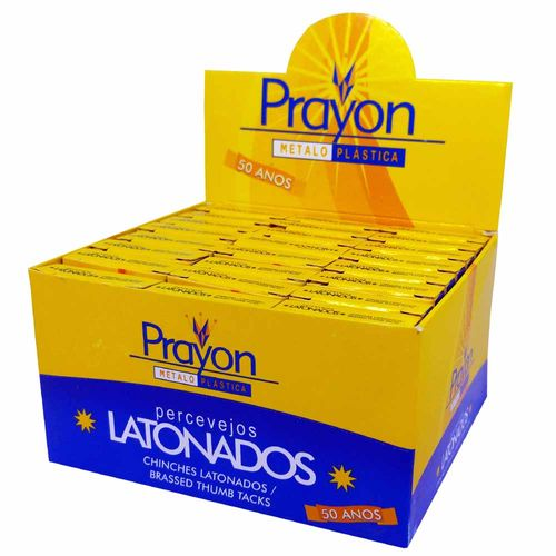Percevejo Latonado Prayon 2400 Unidades 11310