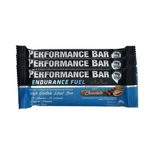 Performance Bar 60g 12 Unidades - Chocolate