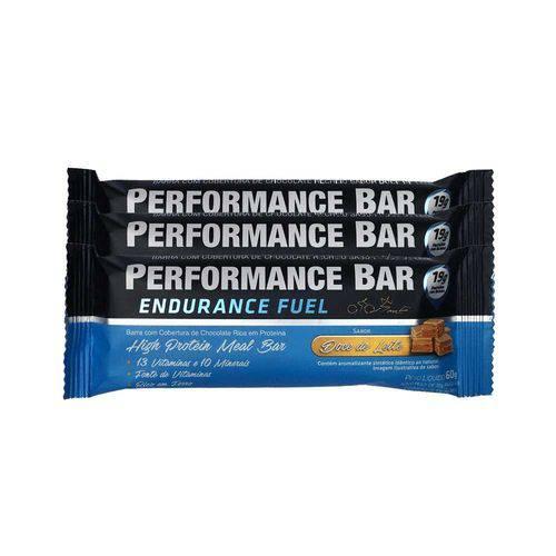 Performance Bar 60g 12 Unidades - Doce de Leite