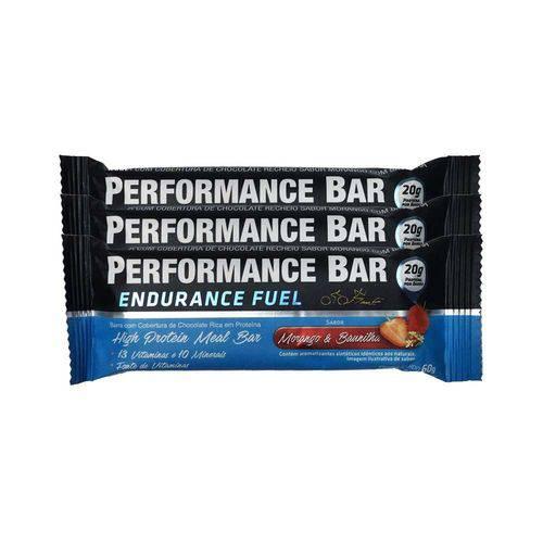 Performance Bar 60g 12 Unidades - Morango e Baunilha