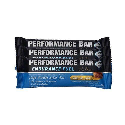 Performance Bar 60g 12 Unidades - Pão de Mel