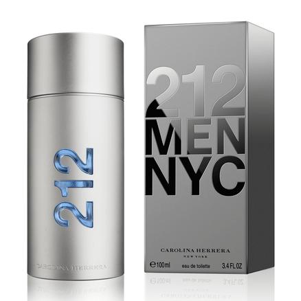 Perfume Carolina Herrera 212 Men Nyc Eau de Toilette Spray 50ml