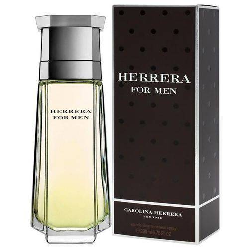 Perfume Carolina Herrera Herrera For Men Eau de Toilette Masculino 200 Ml