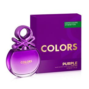 Perfume Colors Purple Feminino Eau de Toilette 50ml