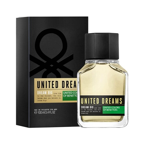 Perfume EDT Benetton United Dreams Dram Big 100ml