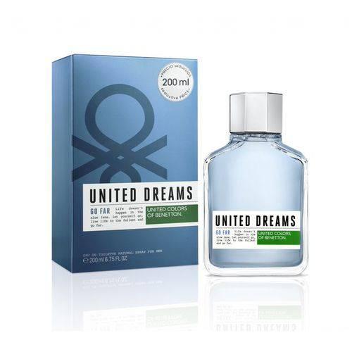 Perfume Masculino Benetton United Dreams Go Far 200ml