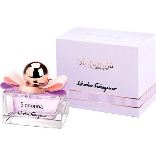 Perfume Salvatore Ferragamo Signorina Feminino Eau de Toilette 50ml