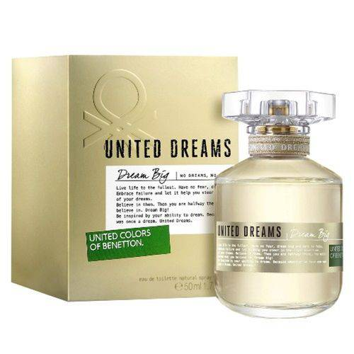 Perfume United Dreams Dream Big Eau de Toilette Feminino