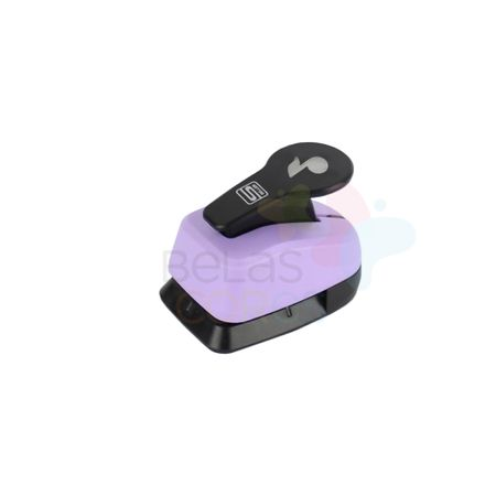 Perfurador Artesanal 25mm Nota Musical - 1 Unidade