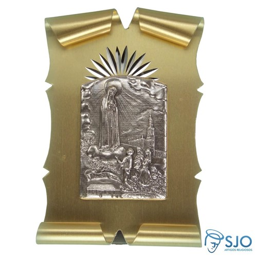 Pergaminho 8 X 5 de Nossa Senhora de Fátima | SJO Artigos Religiosos