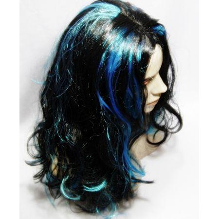 Peruca Azul e Preta