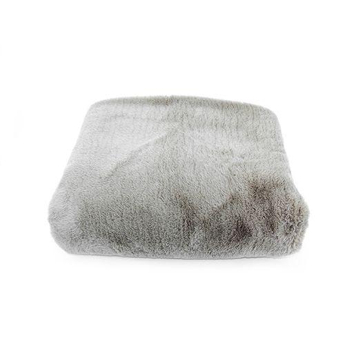 Peseira Marrom de Pele Alasca 0,70 X 2,60