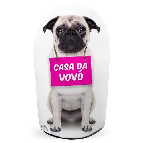 Peso de Porta Cachorrinho Casa da Vovó Cachorro Pesinho Decoração