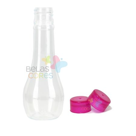 Pet Acquíssima 60 Ml Tampa Pink - 10 Unidades