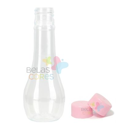 Pet Acquíssima 60 Ml Tampa Rosa - 10 Unidades