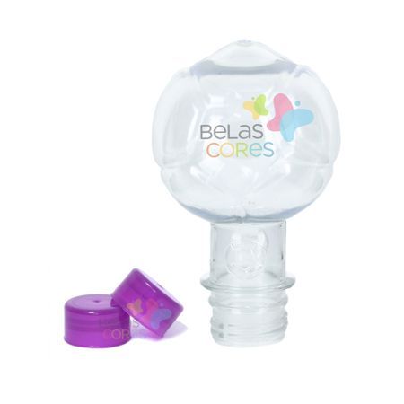 Pet Bola 130 Ml Tampa Roxa - 10 Unidades