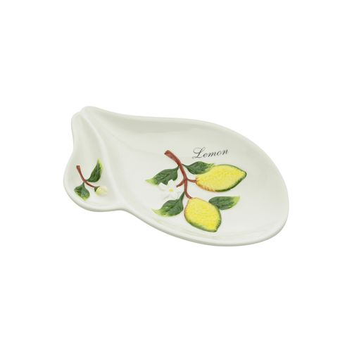 Petisqueira em Cerâmica Bon Gourmet Lemons 20,5x13,5cm