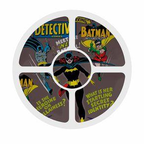 Petisqueira Redonda Batgril Batman Dc Comics - 5 Divisorias