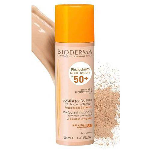 Photoderm Nude Touch Cor Claro Bioderma Fps 50+ 40ml